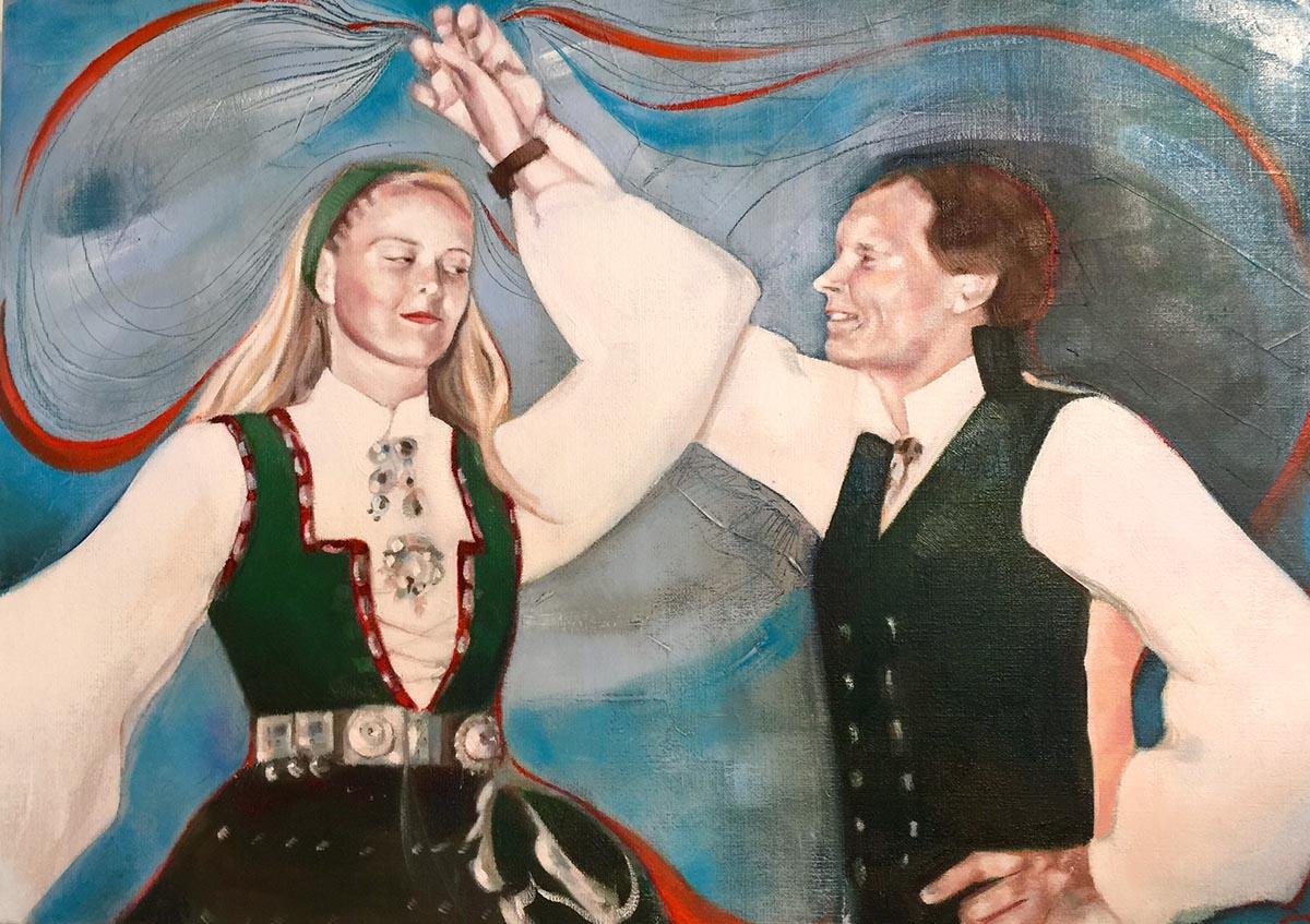 dans portrett dobbel bevegelse motion dance verena waddell
