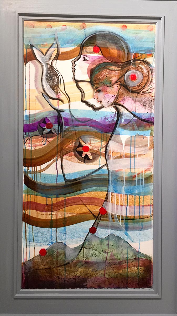 Verena Waddell visual artist original rise