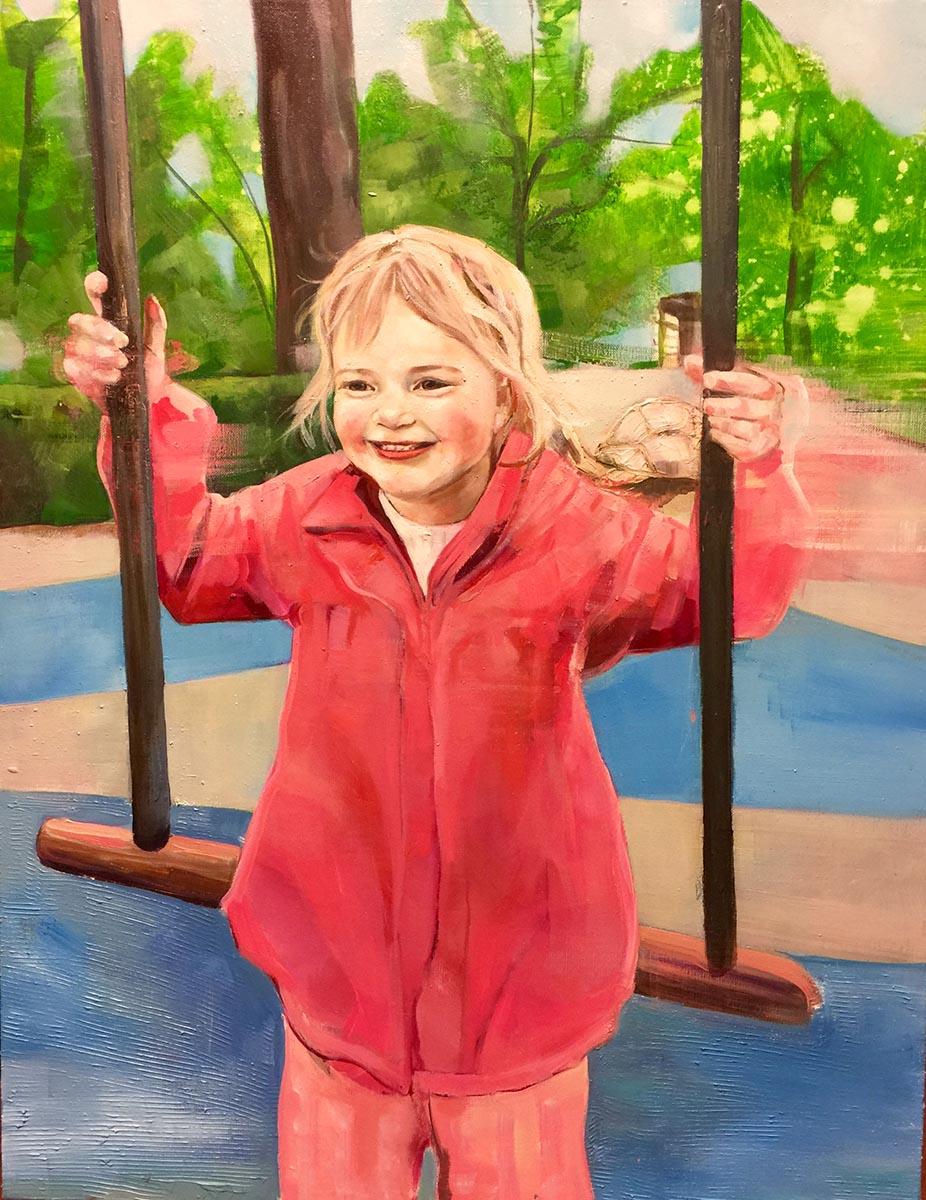 portrett portrai oppdrag commision verena waddell