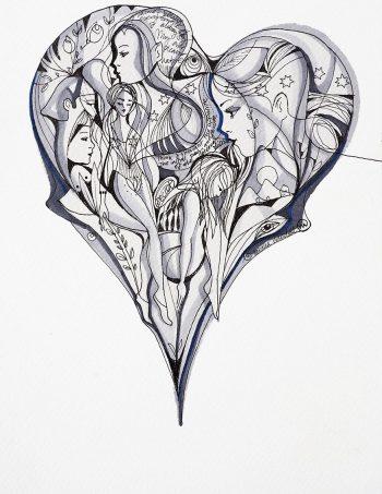 Verena Waddell visual artist print Ever Pleasure Nature