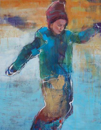 Verena Waddell visual artist print Isdans