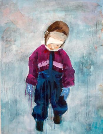 Verena Waddell visual artist print Jeg vil hjem