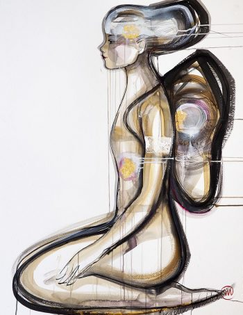 Verena Waddell visual artist print soyle