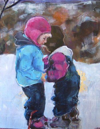 Verena Waddell visual artist print Stottespiller
