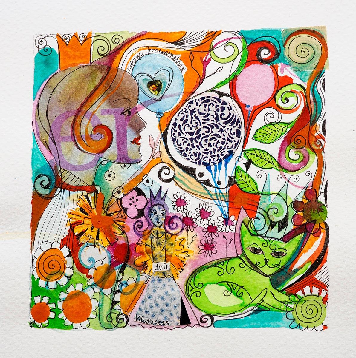 "Verena Wadell visual artist print ""Spring"""