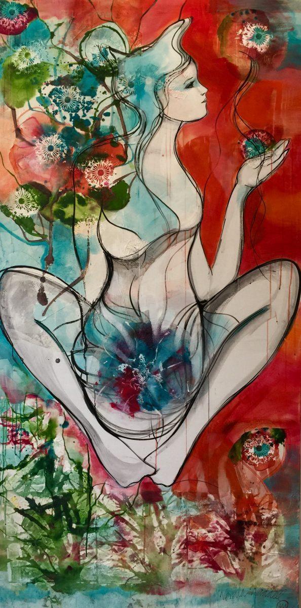 verena waddell visual artist original art oasis