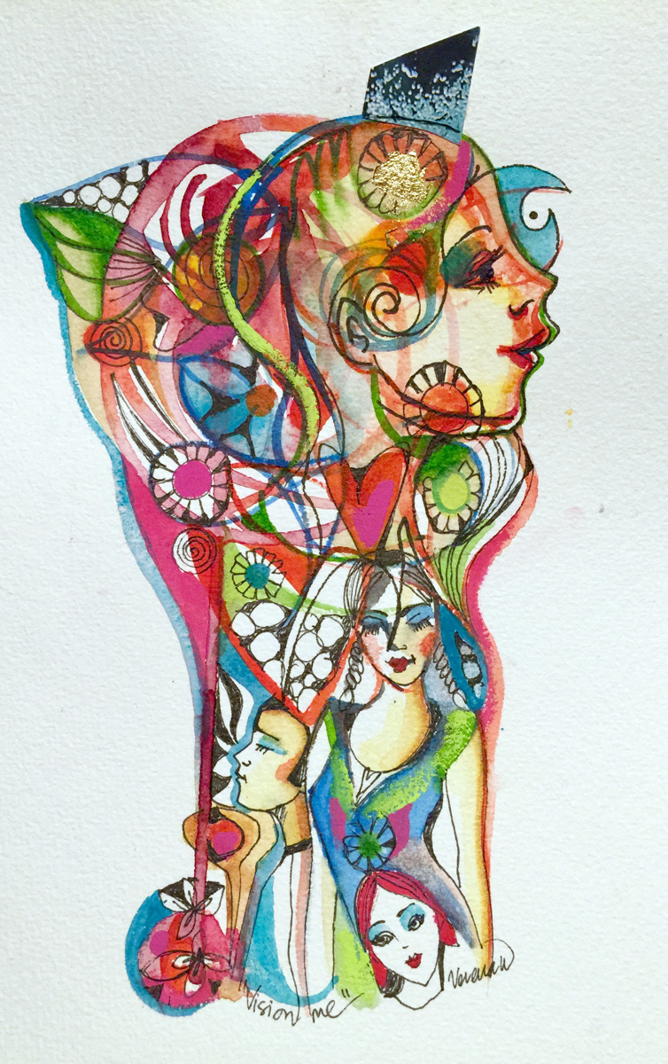 verena waddell visual artist original ink vision me