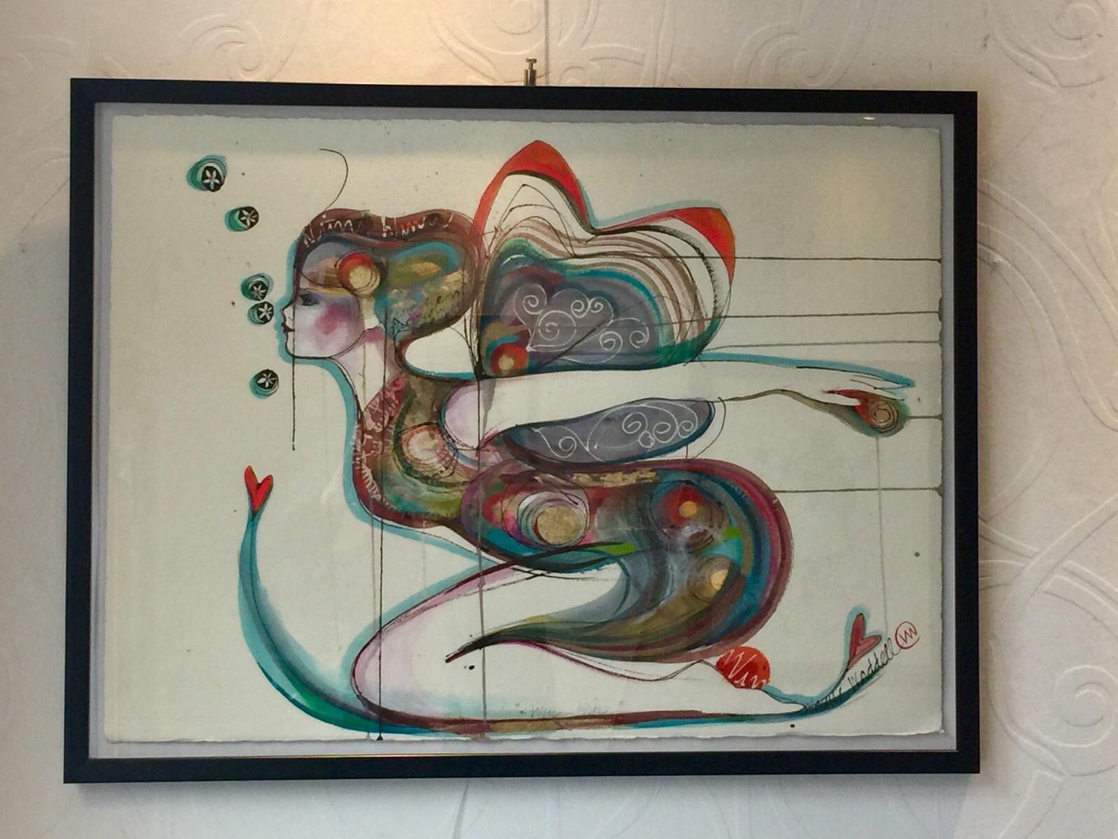 Verena Waddell visual artist INK Win WinVerena Waddell visual artist INK Win Win