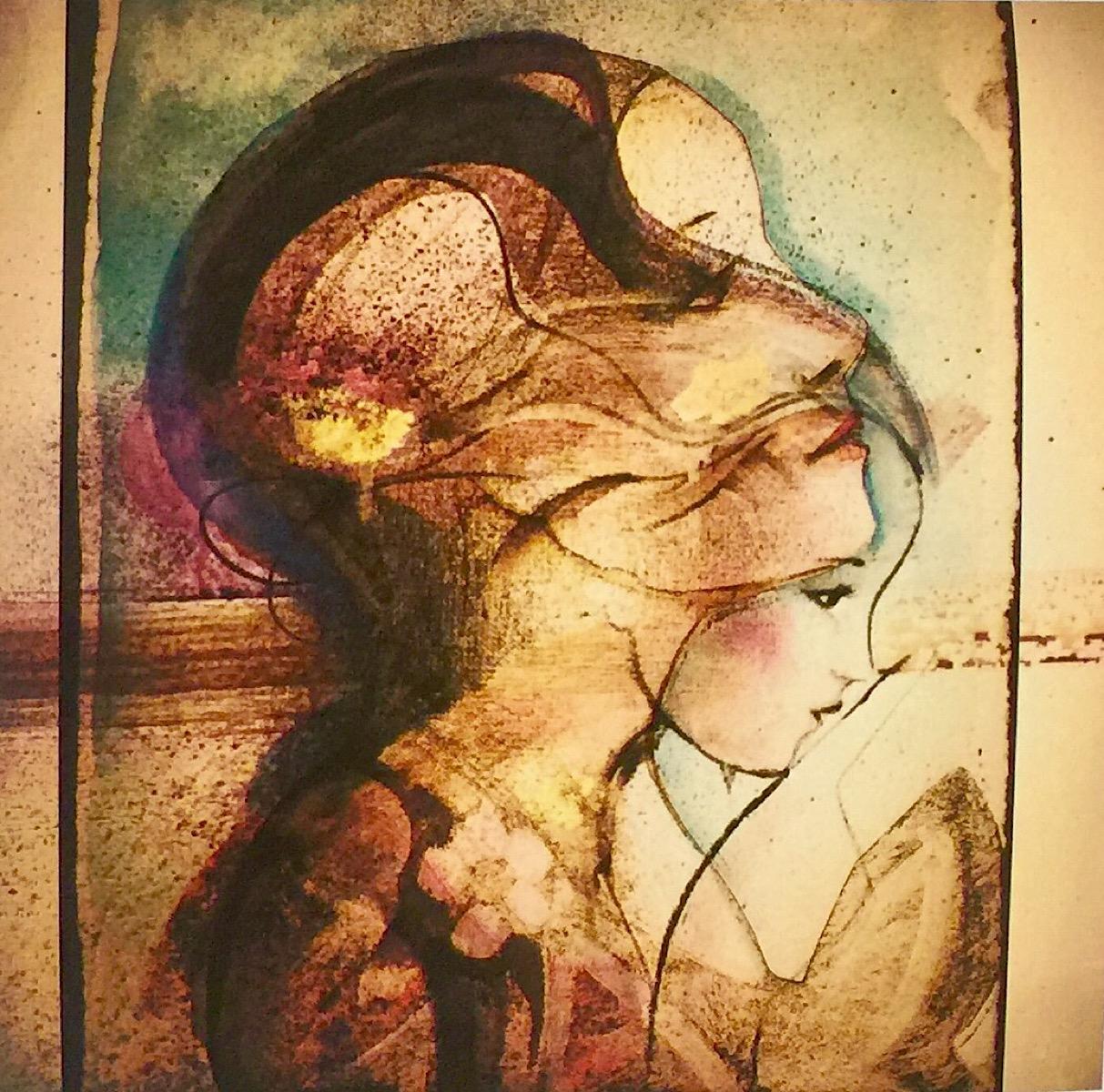 Verena Waddell visual artist print dga ink art