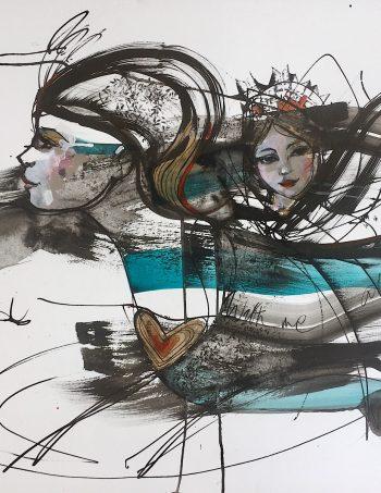 Verena Waddell blekk ink with me visual artist
