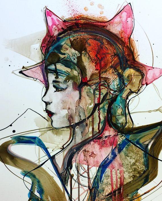 Verena Waddell ink original star